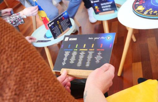 Carte du jeu de coaching WYS Game